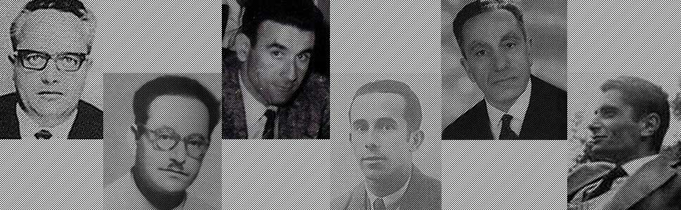 Les 6 victimes - Marcel Basset, Mouloud Feraoun, Ali Hammoutene, Max Marchand, Salah Ould Aoudia, Robert Eymard
