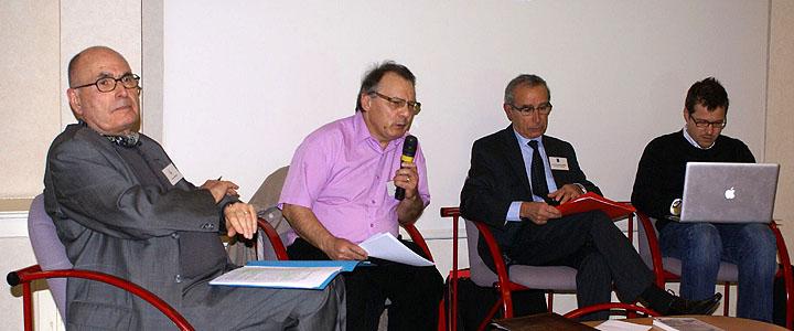 Conférence à Evian en 2012, © Michel Tréboz