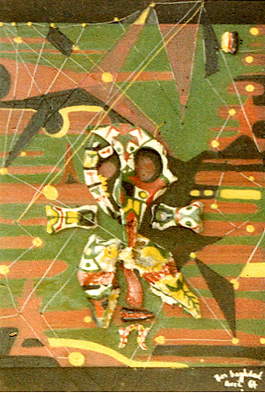 Mohamed Benbaghdad, Sans titre, 1967