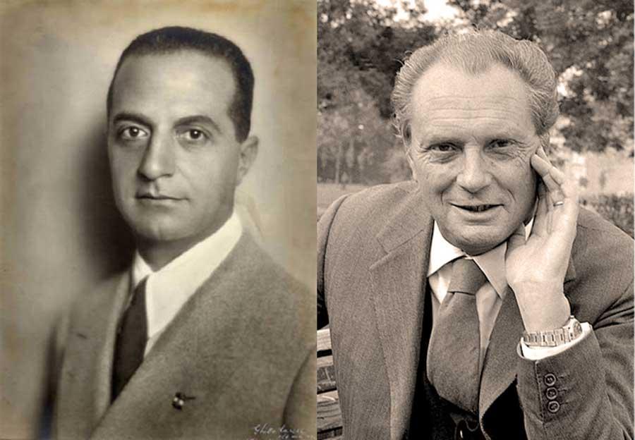 Giuseppe Bottai et Vittorio Sereni