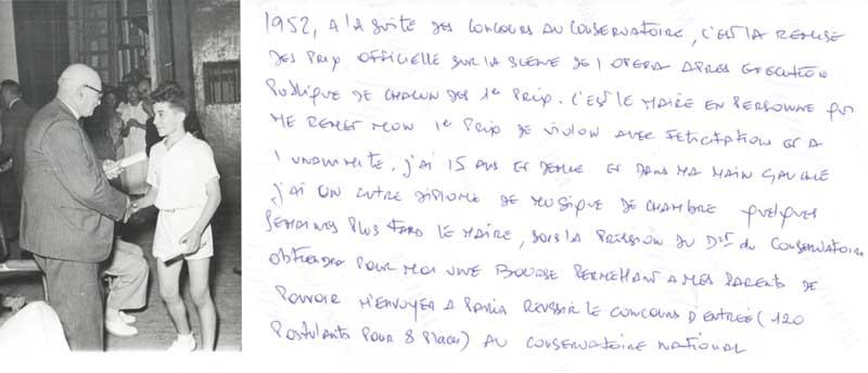 Archive personnelle de Claude Benaya